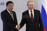 Rusi se na internetu šalili na račun predsednika Filipina koji je u poseti Moskvi
