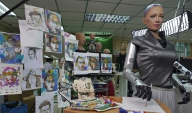 Robot umetnica stvorila digitalno delo prodato za 688.888 dolara