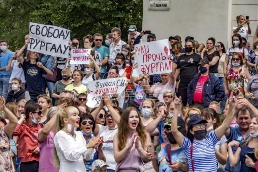 U Rusiji novi protesti zbog hapšenja guvernera