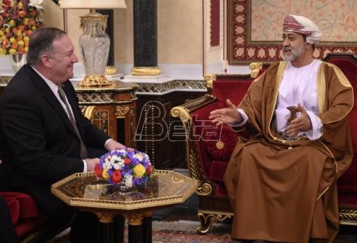 Pompeo se sastao sa novim sultanom Omana