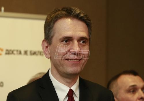 Saša Radulović predsednički kandidat DJB