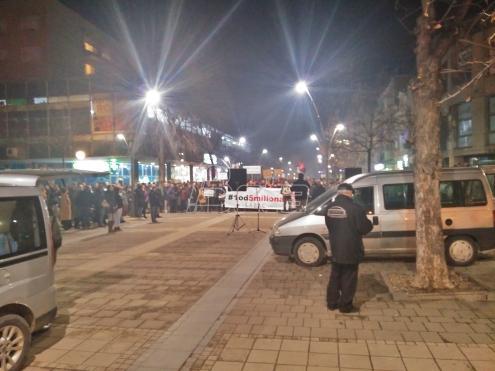 U Šapcu održan peti protest protiv vlasti na državnom nivou