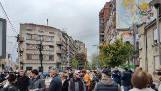 Održan protest na skveru Milene i Gage zbog nasrtaja 'divljeg investitorskog urbanizma'