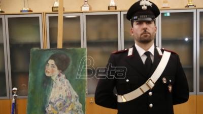 Slika slučajno pronadjena u Italiji jeste original Gustava ...