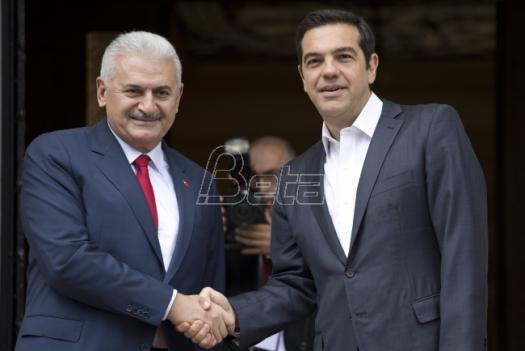 Premijeri Grčke i Turske sastali se u Atini uprkos brojnim neslaganjima