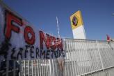 U Francuskoj protest ispred fabrike Renoa protiv ukidanja radnih mesta