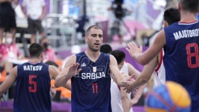 Basketaši Srbije i dalje neporaženi na Olimpijskim igrama