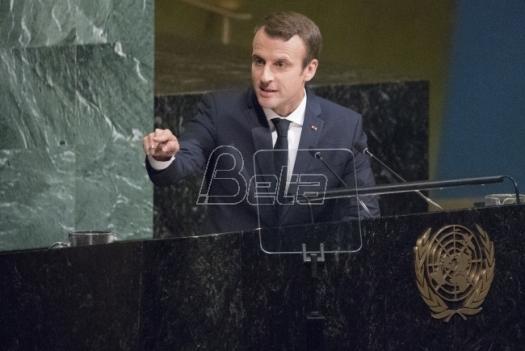 Makron zatražio od UN kontakt grupu za Siriju