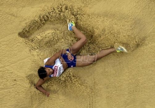 Ivana Španović u finalu Svetskog prvenstva