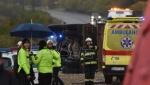 U sudaru autobusa sa srednjoškolcima i kamiona u Slovačkoj 12 mrtvih (VIDEO)