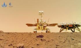 Objavljene slike kineskog rovera sa Marsa (VIDEO)