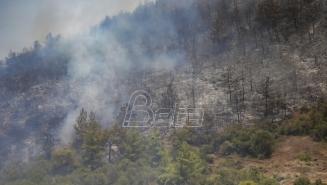 Na Kosovu devet aktivnih požara, najgora situacija na Prokletijama u blizini sela Štupek