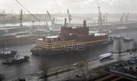 Ruska plutajuća nuklearna elektrana krenula ka odredištu (VIDEO)