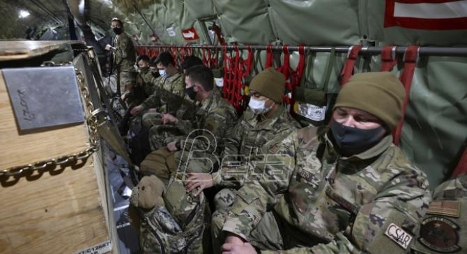 RSE: Hiljade vojnika u Vašingtonu, jačanje bezbednosnih mera širom SAD (VIDEO)