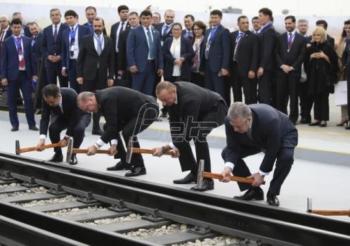 Azerbejdžan, Gruzija i Turska otvorili najkraću železničku vezu Azija-Evropa (VIDEO)