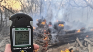 Raste strah od radijacije zbog požara kod Černobilja