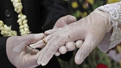 Zbog epidemioloških mera švedsko-norveški par se venčao ...