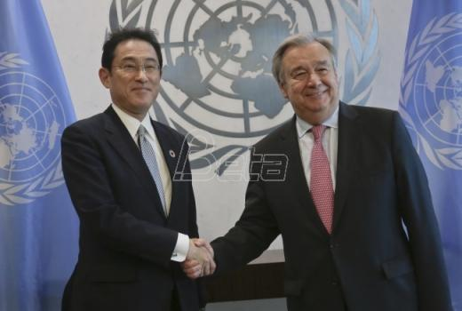 Japan obećao milijardu dolara UN-u