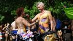 Goli biciklisti u godišnjoj vožnji po Filadelfiji