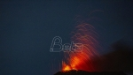 Vulkan Pakaja u Gvatemali u erupciji
