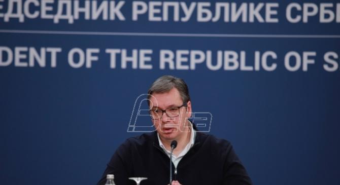 Vučić: Spremni smo na punu saradnju sa Prištinom u suzbijanju epidemije korona virusa