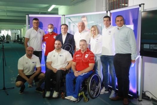 Serbian Paralympians sent to Tokyo (VIDEO)