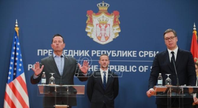 Grenel: SAD će ispuniti obećanja data Beogradu, usmereni smo na ekonomski razvoj regiona (VIDEO)