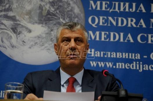 Tači: Stranci mogu da ubede Beograd za pet minuta da podrži formiranje vojske