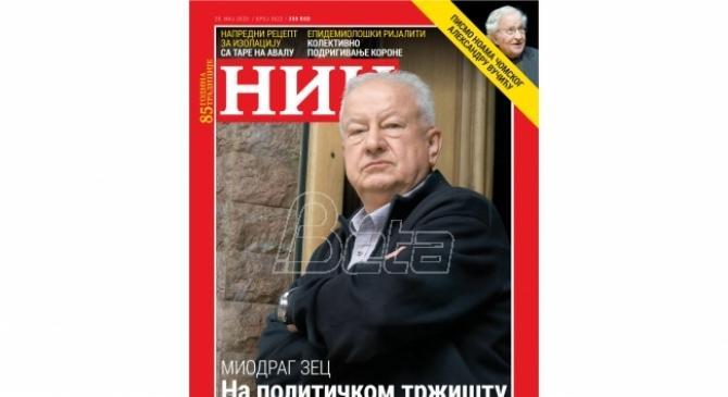 Miodrag Zec za NIN: Na političkom tržištu sva roba je falš