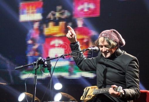 Koncertom Bijelog dugmeta počeo novogodišnji program u Beogradu