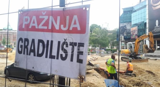 Nova stranka: Početak rekonstrukcije od Vukovog spomenika do Kalemegdana vrhunac bahatosti vlasti