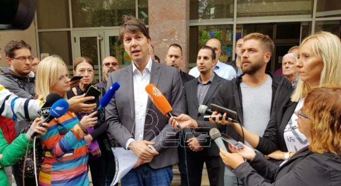 Jovanović: Vesić slagao o ugovoru za Trg Republike, neko će morati u zatvor