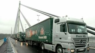 AMSS:  Kiša i radovi usporavaju saobraćaj