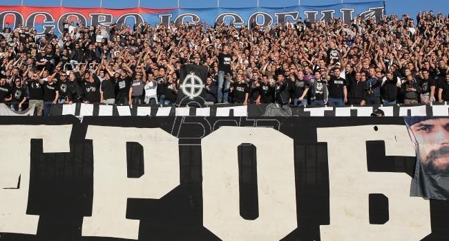 Partizan protiv Mladosti sa navijačima