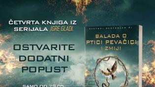Vulkan: Stigla je nova knjiga serijala Igre gladi