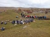 Društvo za zaštitu i proučavanje ptica sa Pešterskog polja sakupilo 250 džakova smeća