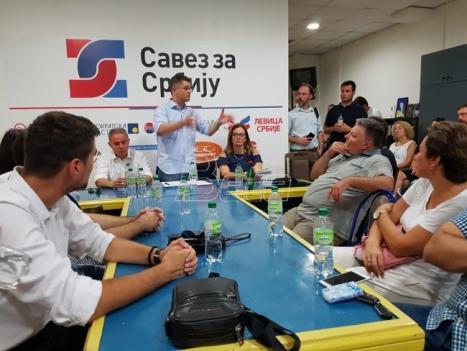 SZS: Konačna odluka o bojkotu izbora vrlo brzo