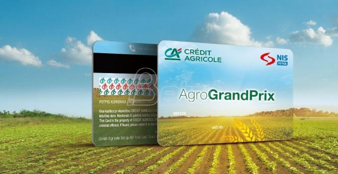 Crédit Agricole Srbija predstavlja Agro Grand Prix karticu na sajmu poljoprivrede