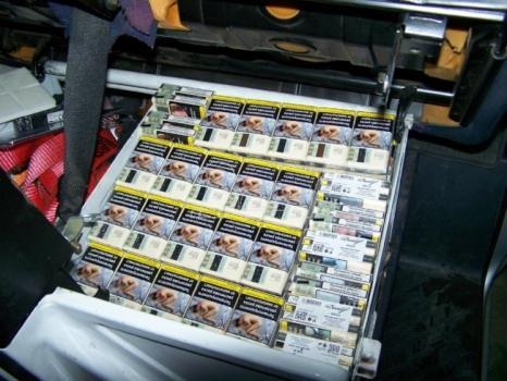 Zaplenjeno nešto manje od 6.000 paklica švercovanih cigareta