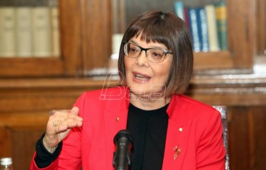 Maja Gojković: Nova vlada do kraja sledeće nedelje