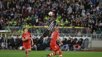 Partizanu samo bod protiv AZ-a, uprkos penalu i igraču više