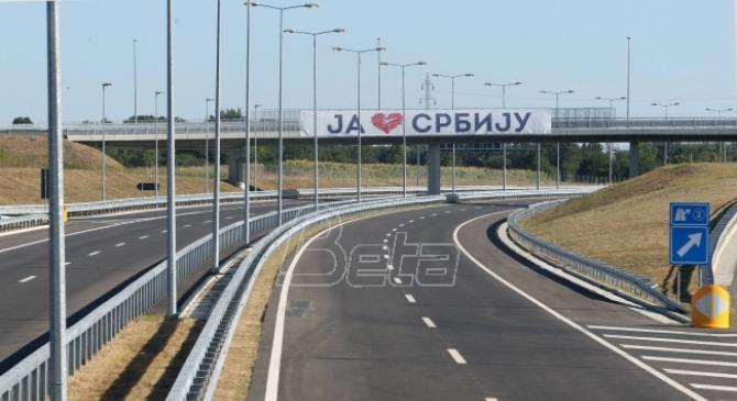 Putevi Srbije: Za 12 sati autoputem Miloš Veliki prošlo 4.100 vozila