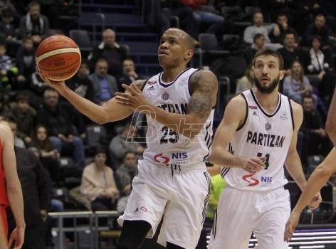 Partizan pobedio u dramatičnoj završnici u Belgiji