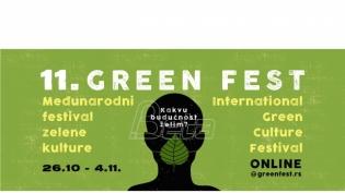 Festival zelene kulture Green fest od 26. oktobra onlajn