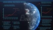 Infografika 'Globalno zagrevanje – porast prosečne temperature u svetu i u Srbiji'