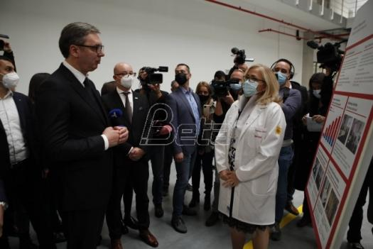 Vučić: The total investment of the German company Brose in Pancevo is 180 million euros, the Government helped a lot