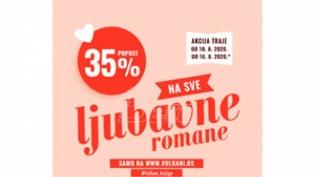 Najlepši ljubavni romani Vulkan izdavaštva po sjajnim cenama