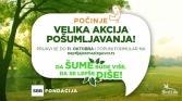 SBB fondacija u Srbiji započinje veliku akciju pošumljavanja