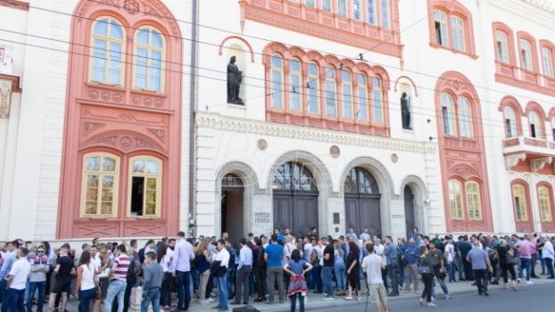 Studenti iz udruženja Jedan od pet miliona tvrde da su preuzeli kontrolu nad Rektoratom BU