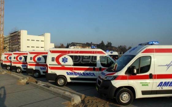 Beograd: Dve osobe lakše povredjene